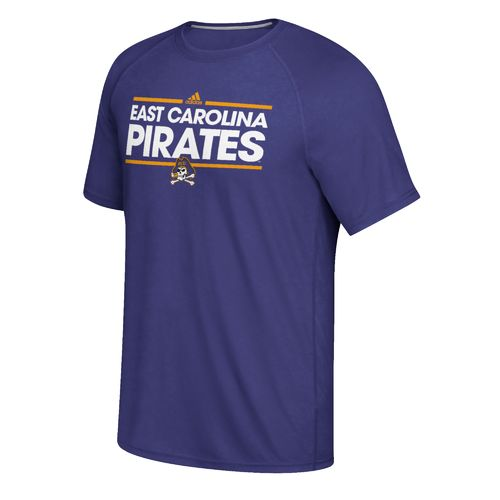 adidas Men's East Carolina University Dassler Ultimate Short Sleeve T-shirt