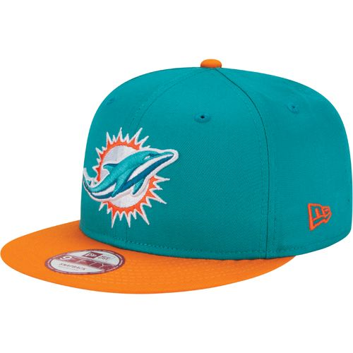 New Era Men's Miami Dolphins 9FIFTY Baycik Snapback Cap