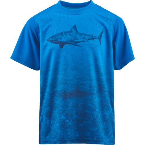 Display product reviews for Magellan Outdoors Boys' Logo Graphic T-shirt