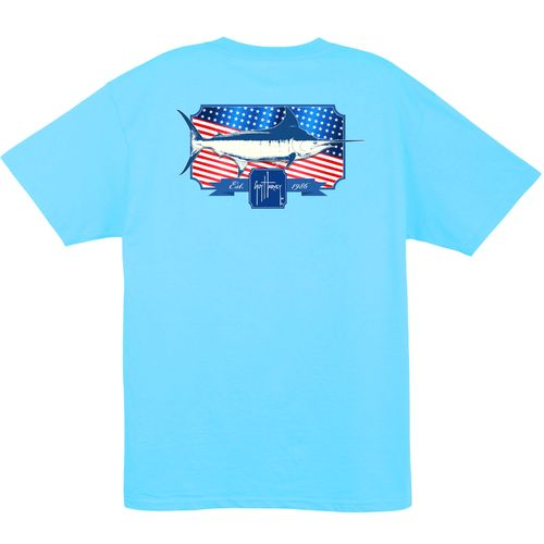Guy Harvey Men's Spangled T-shirt