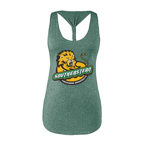 Chicka-d Women's Southeastern Louisiana University Braided Tank Top