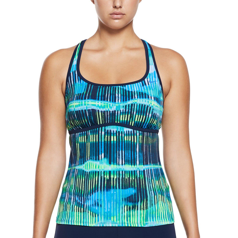 Display product reviews for Nike Women's Electrify Racerback Tankini Swim Top
