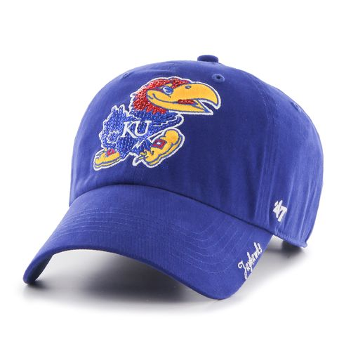 '47 Women's University of Kansas Sparkle Clean Up Cap