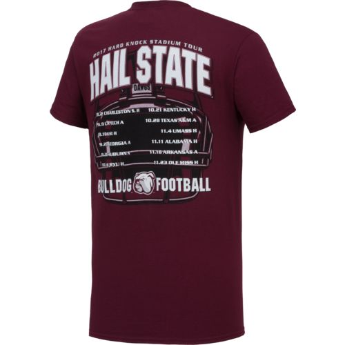 New World Graphics Men's Mississippi State University Football Schedule '17 T-shirt - view number 2