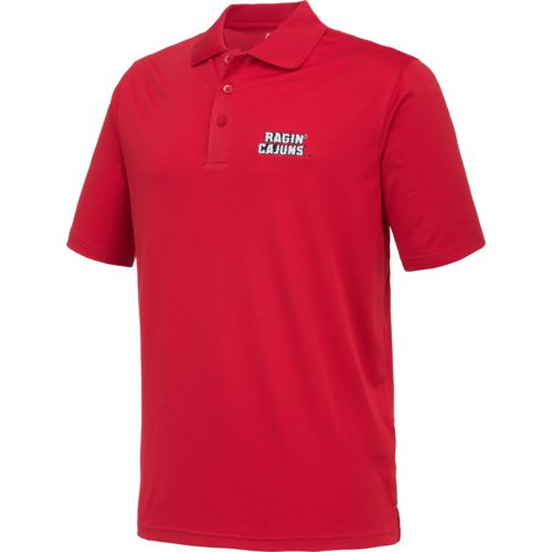 Antigua Men's University of Louisiana at Lafayette Pique Xtra-Lite Polo Shirt - view number 3