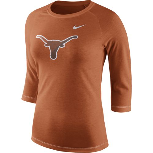 Nike Women's University of Texas Champ Drive Raglan T-shirt