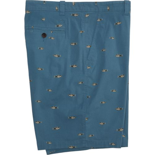 Display product reviews for Magellan Outdoors Men's Printed Summerville Poplin Short