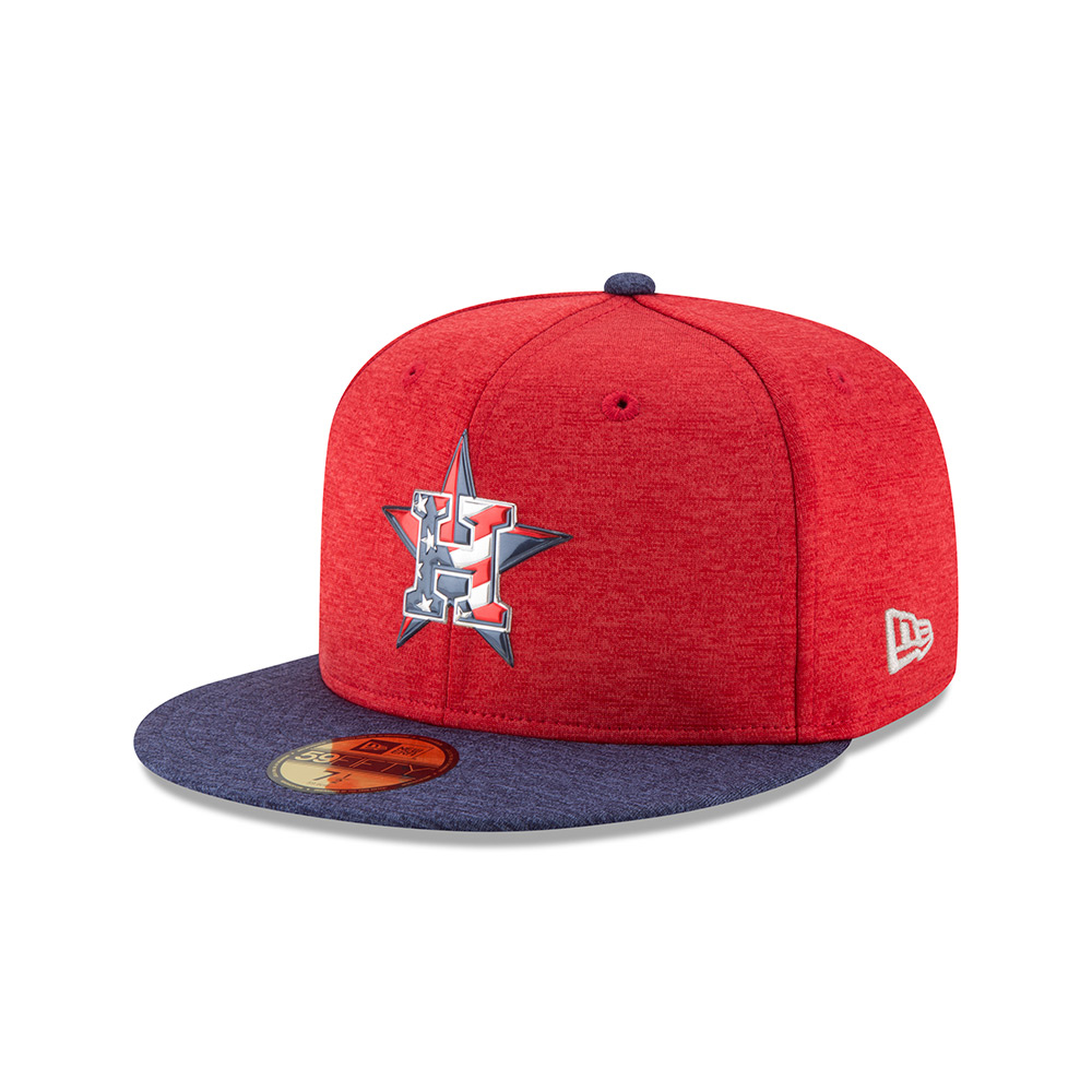 Display product reviews for New Era Men's Houston Astros Stars and Stripes 2T '17 59FIFTY Cap