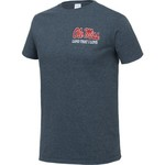New World Graphics Men's University of Mississippi Flag Glory T-shirt - view number 3