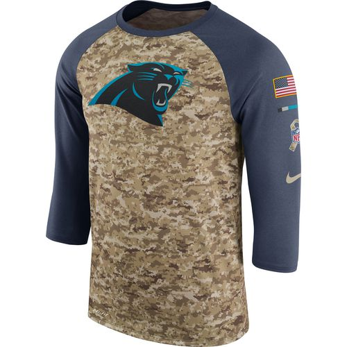 Nike Men's Carolina Panthers STS '17 Legend Raglan T-shirt