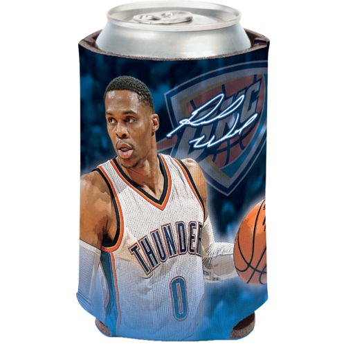 WinCraft Oklahoma City Thunder Russell Westbrook Triple Double 12 oz Can Cooler - view number 1