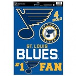 WinCraft St. Louis Blues Multiuse Decals 4-Pack - view number 1