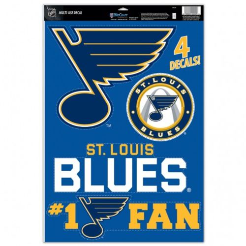 WinCraft St. Louis Blues Multiuse Decals 4-Pack