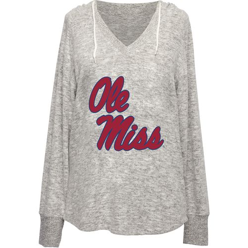 Chicka-d Women's University of Mississippi V-neck Hoodie