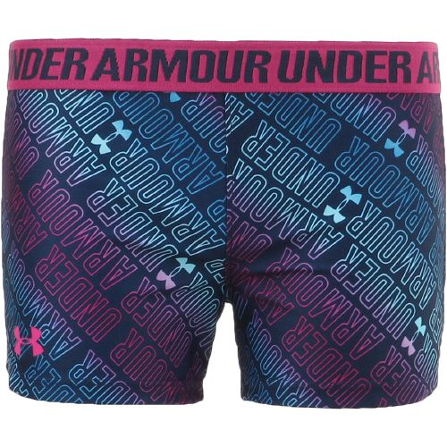 Under Armour Girls' Wordmark Play Up Short