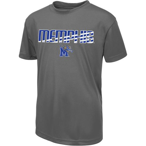 Colosseum Athletics Boys' University of Memphis Team Stripe T-shirt