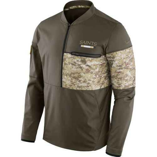 Nike Men's New Orleans Saints Salute To Service Hybrid Jacket