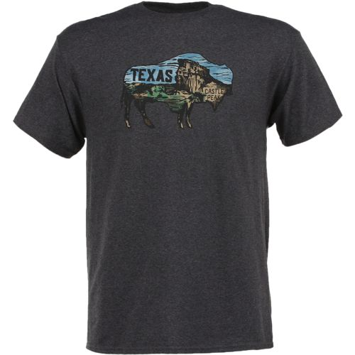 State Love Men's Texas Buffalo Short Sleeve T-shirt - view number 1