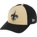 New Era Men's New Orleans Saints 9FORTY The League Blocked Cap - view number 2