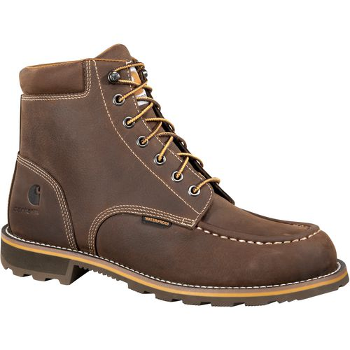 Carhartt Men's Traditional Welt Moc Soft Toe Work Boots