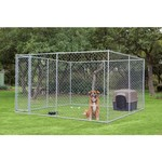 Aspen Pet 2-in-1 Wire Chain Link Outdoor Dog Run - view number 2