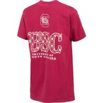 New World Graphics Women's University of South Carolina Comfort Color Initial Pattern T-shirt - view number 2
