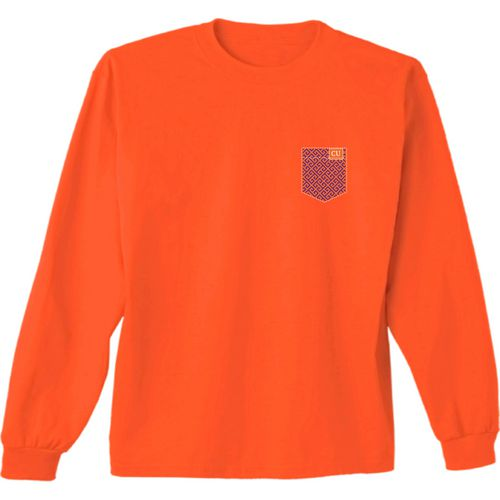 New World Graphics Women's Clemson University Faux Pocket Long Sleeve T-shirt - view number 2