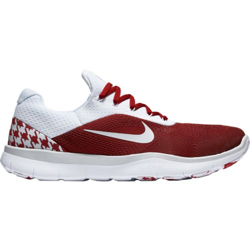 Nike Men's University of Alabama Free Trainer V7 Week Zero Team Training Shoes