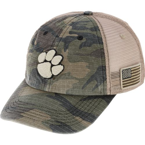 Top of the World Men's Clemson University Declare 2-Tone Adjustable Cap - view number 2
