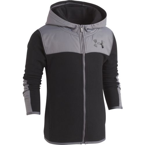 Under Armour Boys' Microfleece Full Zip Hooded Jacket