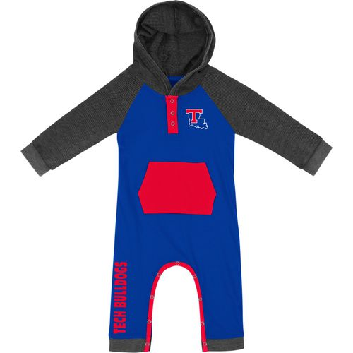 Colosseum Athletics Infant Boys' Louisiana Tech University Truffle Ruffle Onesie