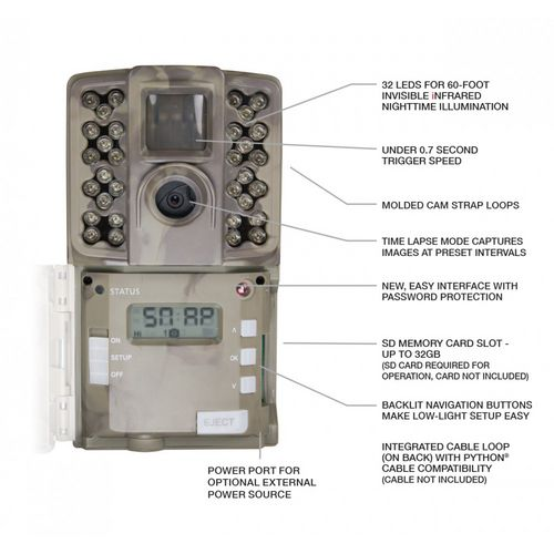 Moultrie AC-30 12.0 Infrared Game Camera - view number 2