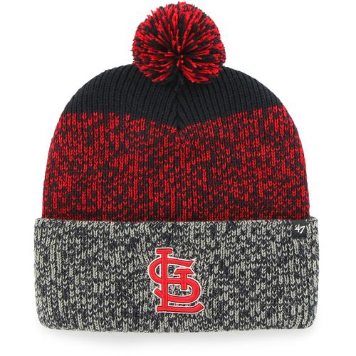 '47 St. Louis Cardinals Static Cuffed Pom Knit Beanie
