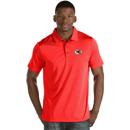 Antigua Men's Kansas City Chiefs Quest Polo Shirt