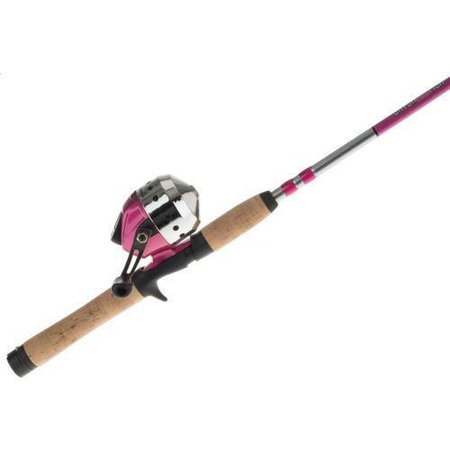 Shakespeare Catch More Fish Women's 5 ft 6 in M Spincast Rod and Reel Combo - view number 3
