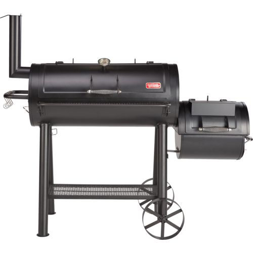 Display product reviews for Outdoor Gourmet Hill Country Offset Charcoal/Wood Smoker