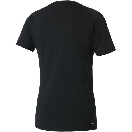 adidas Women's D2M 3-Stripes T-shirt - view number 2