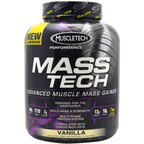 MuscleTech Performance Series Mass-Tech Advanced Muscle Mass Gainer - view number 1