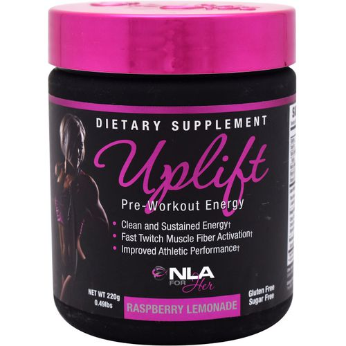 NLA for Her Uplift Pre-Workout Supplement