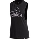 adidas Women's GTP Badge of Sport Muscle Tank Top - view number 3