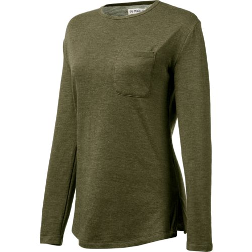 Magellan Outdoors Women's Long Sleeve Willow Creek Knit Shirt