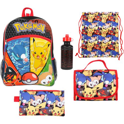 Pokemon Kids' Backpack with Lunch Kit