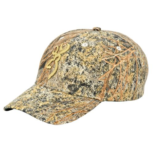 Browning Adults' 3-D Buckmark Cap