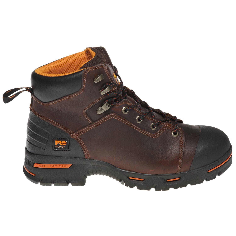"Timberland Men's Endurance 6"" Steel-Toe Work Boots"