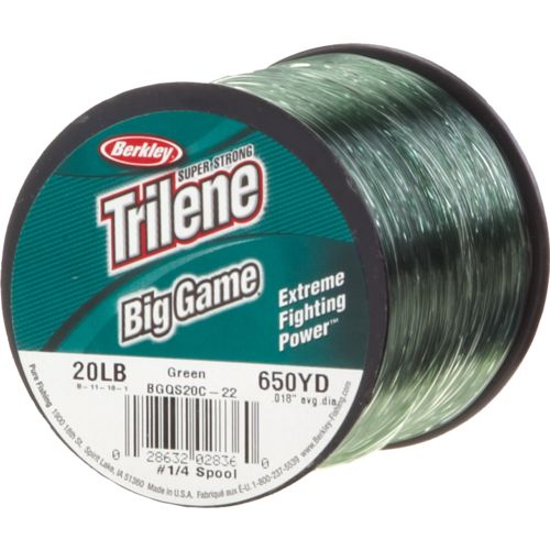 academy berkley trilene big game 20 lb 650 yards
