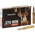 Monarch™ SP .270 Winchester 130-Grain Rifle Ammunition