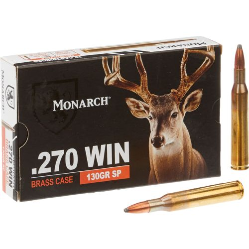 Monarch® SP .270 Winchester 130-Grain Rifle Ammunition