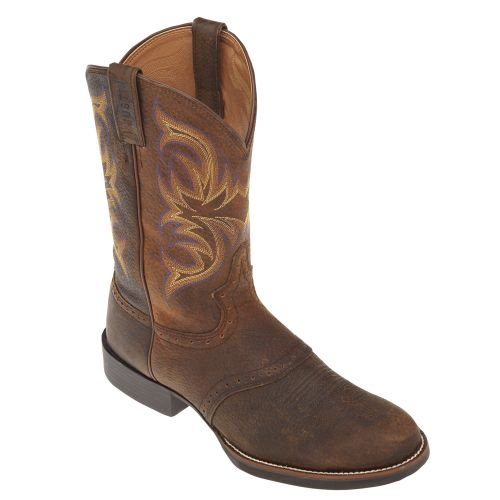 Justin Men's Stampede Cattleman Western Boots - view number 2