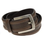 Magellan Outdoors Men's Contrast Stitch Black Belt - view number 1