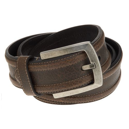 Magellan Outdoors™ Men's Contrast Stitch Black Belt